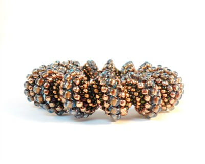 Cellini Spiral Bracelet by The Bead Club Lounge